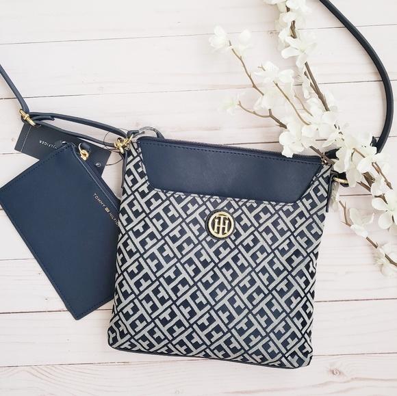 88561b93472 Tommy Hilfiger Bags | Blue Cross Body Bag Nwt | Poshmark